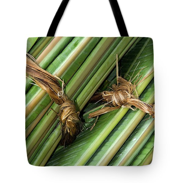 Banana Leaves Tote Bag by Rick Piper Photography