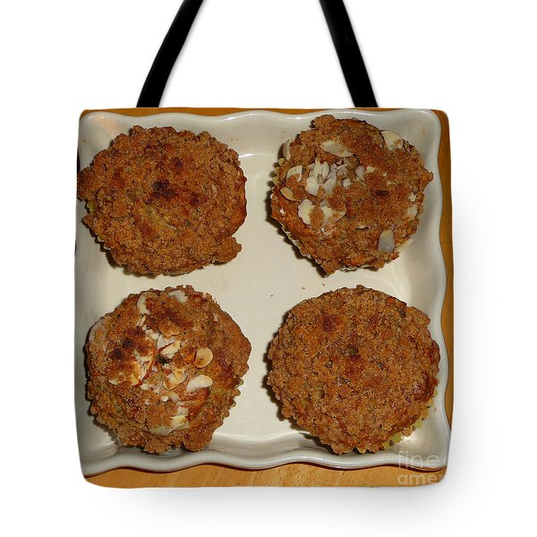 Banana Oat Crunch Muffins Tote Bag
