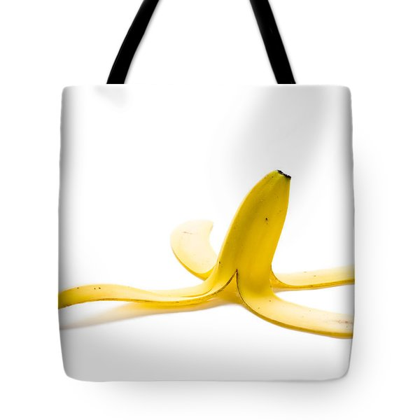 Tote Bag featuring the photograph Banana Skin by Lee Avison