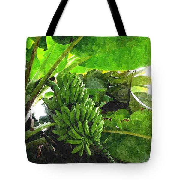 Banana Trees Tote Bag by Lanjee Chee