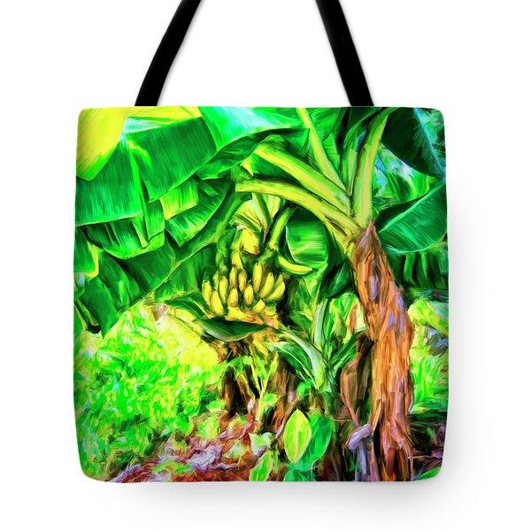 Bananas In Lahaina Maui Tote Bag