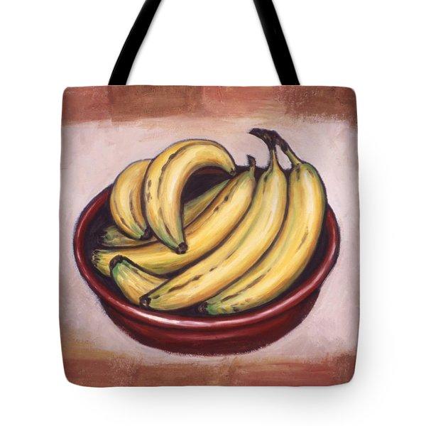 Bananas Tote Bag by Linda Mears