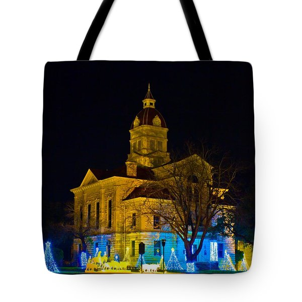Bandera County Courthouse Tote Bag