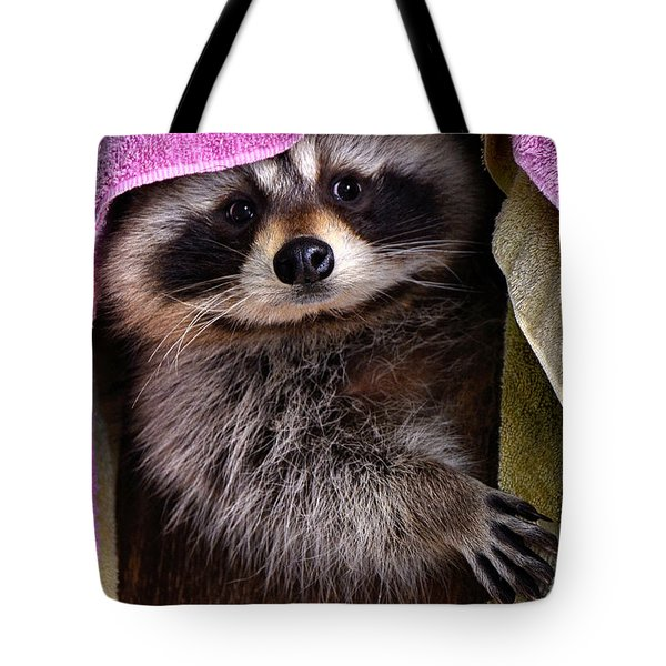 Tote Bag featuring the photograph Bandit by Adam Olsen