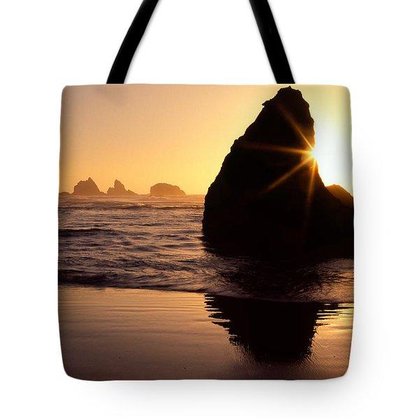 Bandon Golden Moment Tote Bag by Inge Johnsson