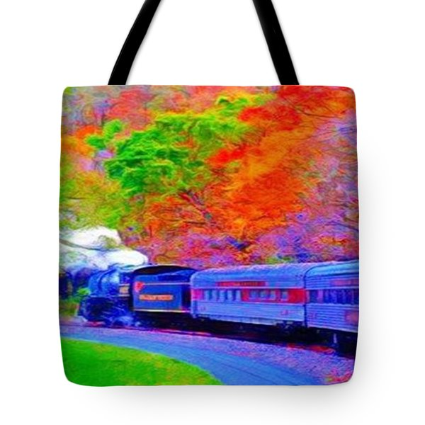 Bang Bang Choo Choo Train-a Dreamy Version Collection Tote Bag
