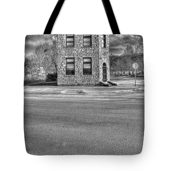Bank Of Glen Jean Wv Tote Bag by Dan Friend