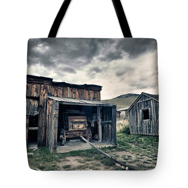 Bannack Carriage House Tote Bag by Renee Sullivan