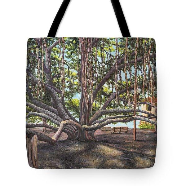 Banyan Tree Lahaina Maui Tote Bag