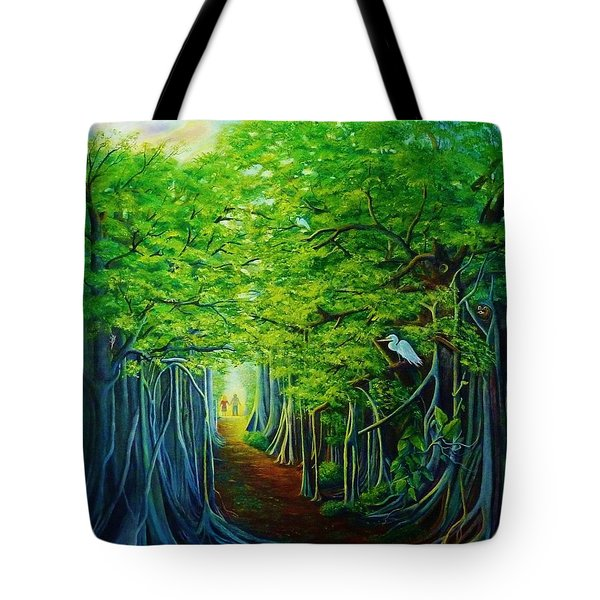 Banyan Walk Tote Bag