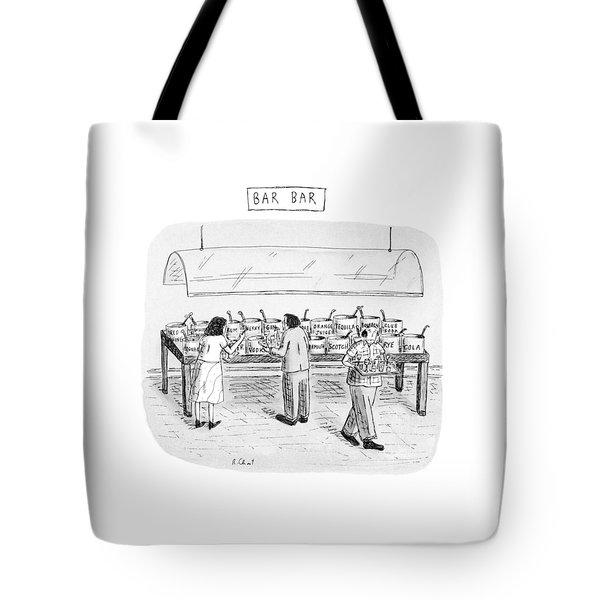 Bar Bar Tote Bag