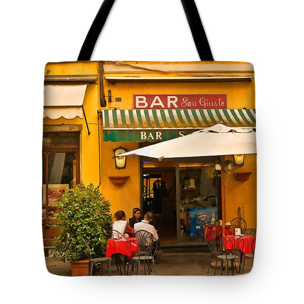 Bar San Giusto Tote Bag