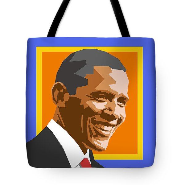 Barack Tote Bag by Douglas Simonson