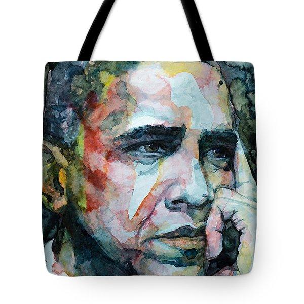 Barack Tote Bag