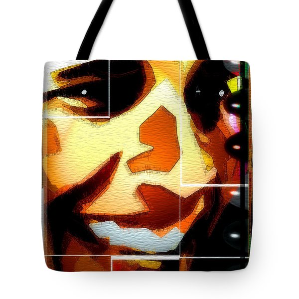 Tote Bag featuring the digital art Barack Obama by Daniel Janda