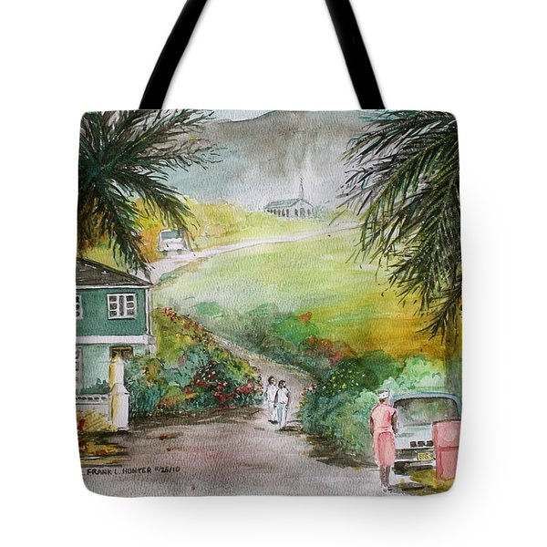 Barbados Tote Bag by Frank Hunter