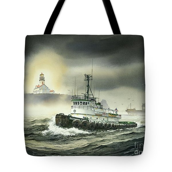 Barbara Foss Tote Bag by James Williamson