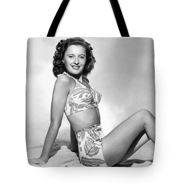 Barbara Stanwyck Tote Bag by Granger
