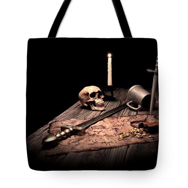 Barbarian Quest Tote Bag by Tom Mc Nemar