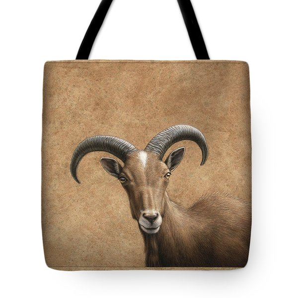 Barbary Ram Tote Bag by James W Johnson
