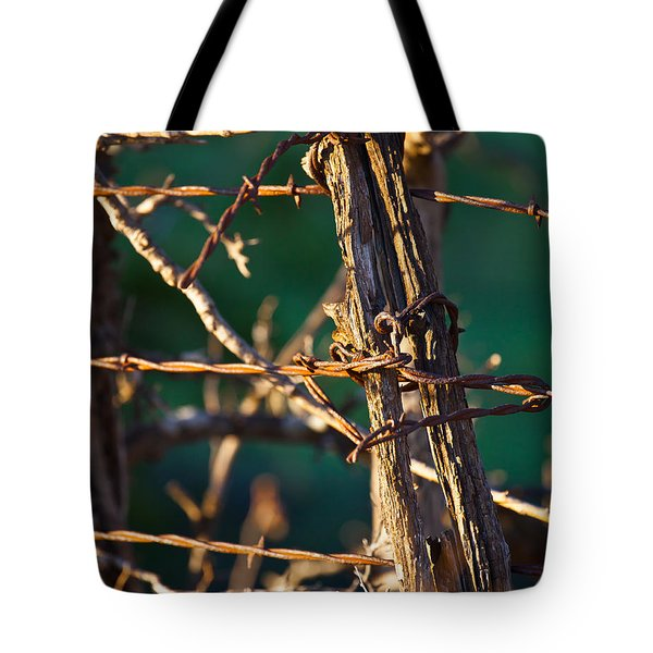 Don't Fence Me In Tote Bag by Mark Alder