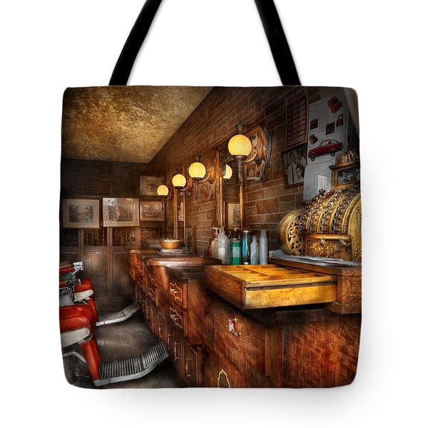 Barber - Closed On Sundays Tote Bag