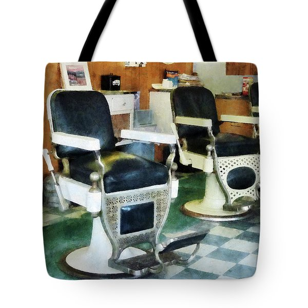 Barber - Corner Barber Shop Tote Bag