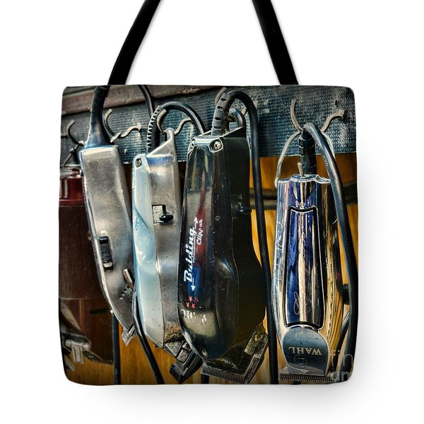 Barber -  Hair Clippers Tote Bag