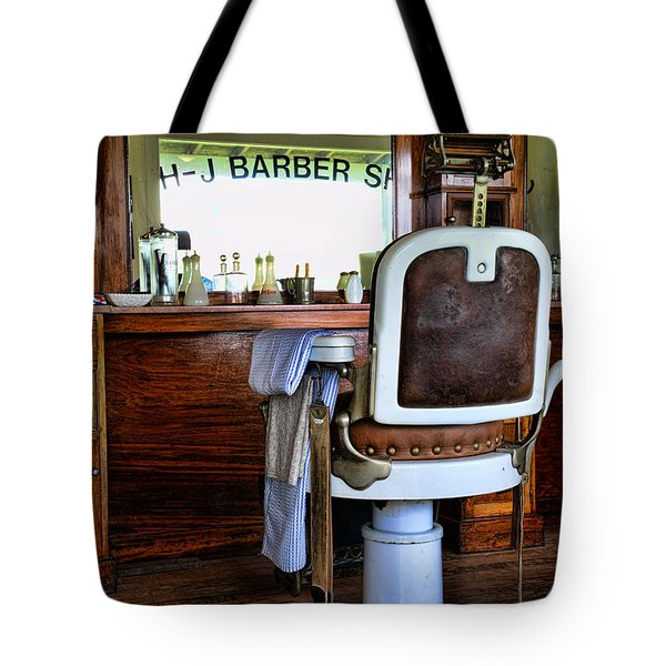 Barber - The Barber Shop Tote Bag
