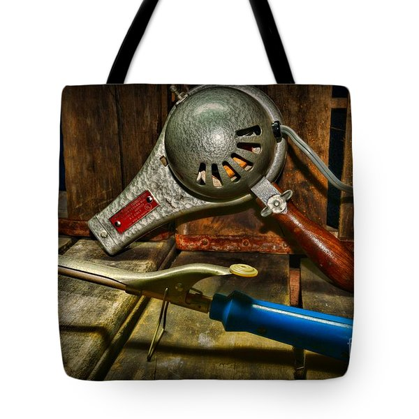 Barber - Vintage Hair Care Tote Bag