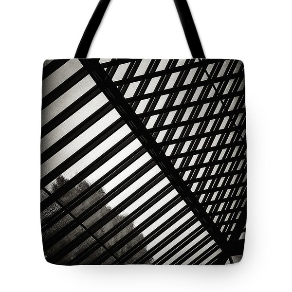 Barbican Grids Tote Bag