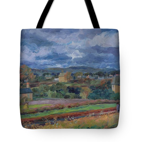 Barbon From The Railway Line Autumn Tote Bag