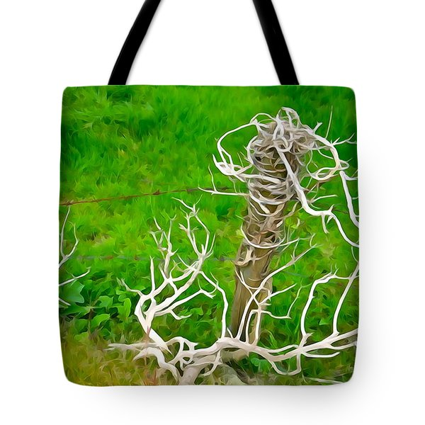 Barbs And Briers Tote Bag