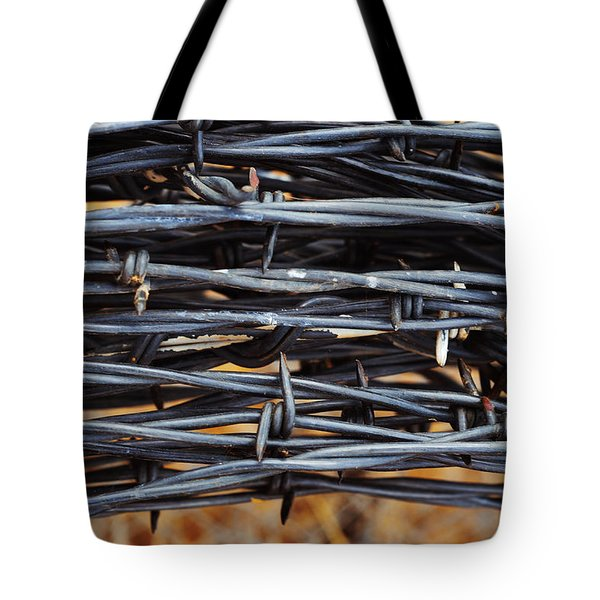 Barbs Wound Tight Tote Bag