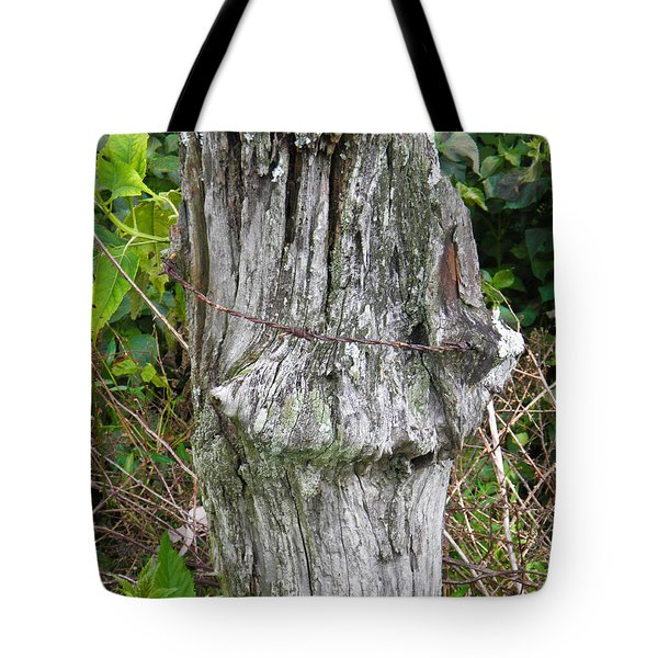 Barbwire Crown Tote Bag