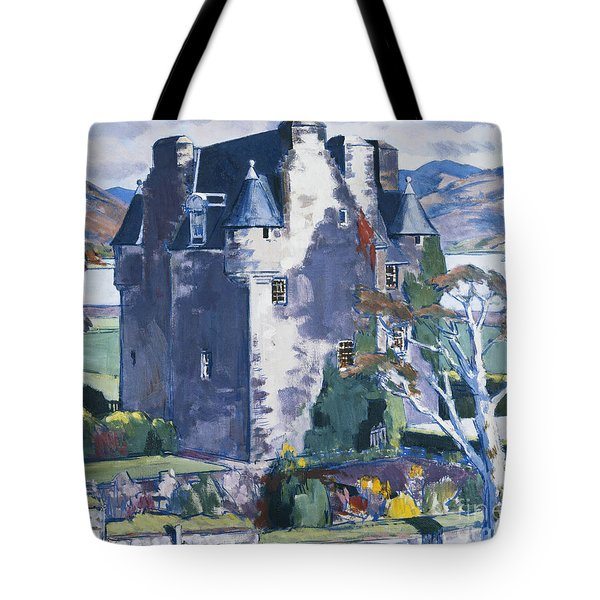Barcaldine Castle Tote Bag by Francis Campbell Boileau Cadell