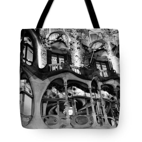 Barcelona - Casa Batllo Tote Bag
