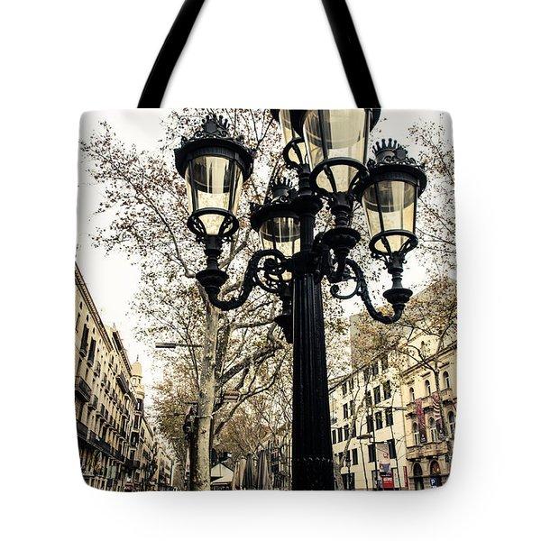 Barcelona - La Rambla Tote Bag