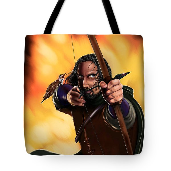Bard The Bowman Tote Bag