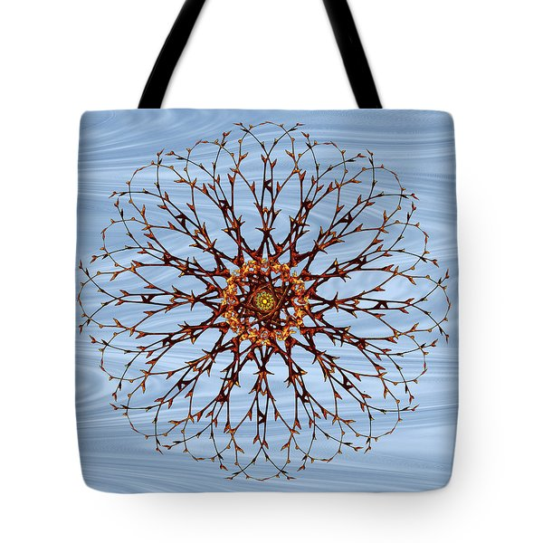 Tote Bag featuring the photograph Bare Branches  by Deborah Smith