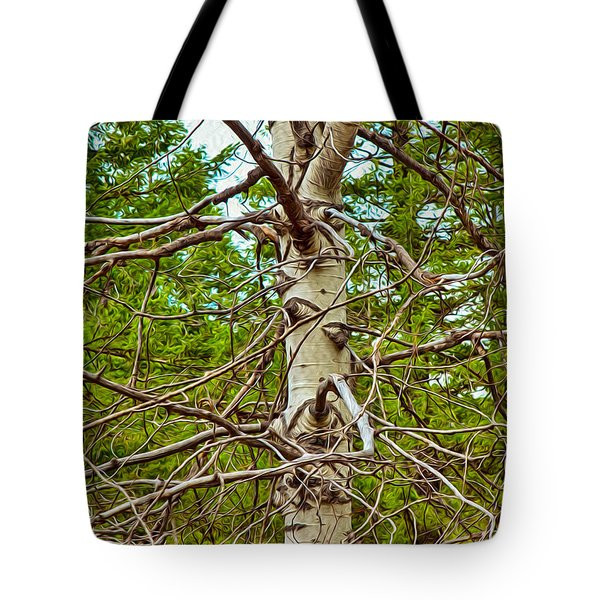 Bare Essentials Tote Bag by Omaste Witkowski