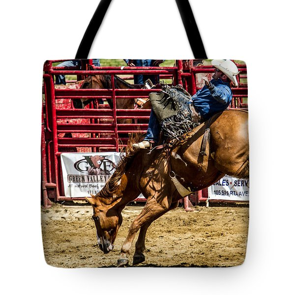Bareback Riding Tote Bag