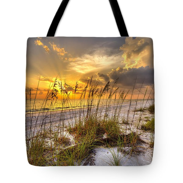 Barefot Sunset Tote Bag