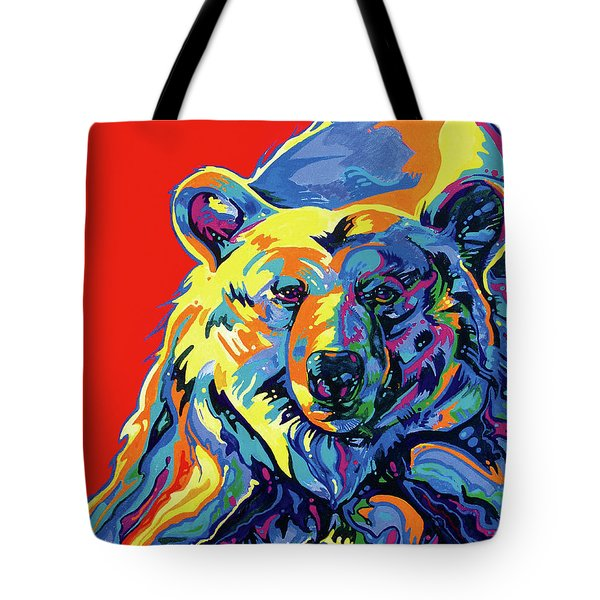 Barehead Tote Bag by Derrick Higgins