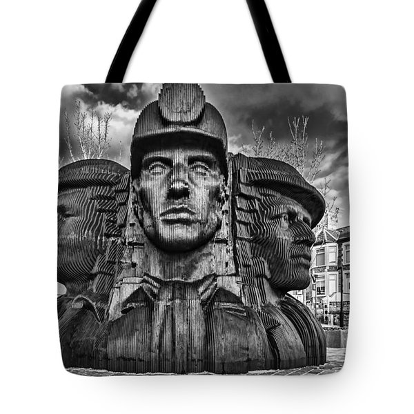 Bargoed Miners 2 Mono Tote Bag