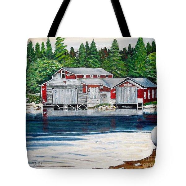 Barkhouse Boatshed Tote Bag