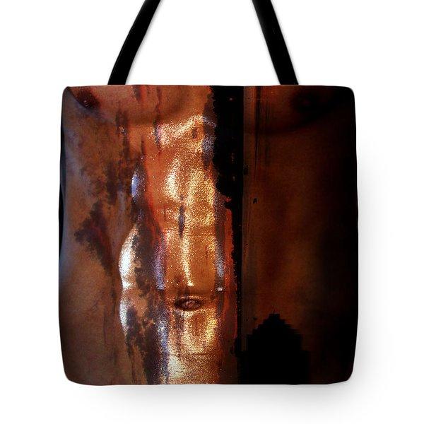 Barmuda Metallic  2 Tote Bag by Mark Ashkenazi