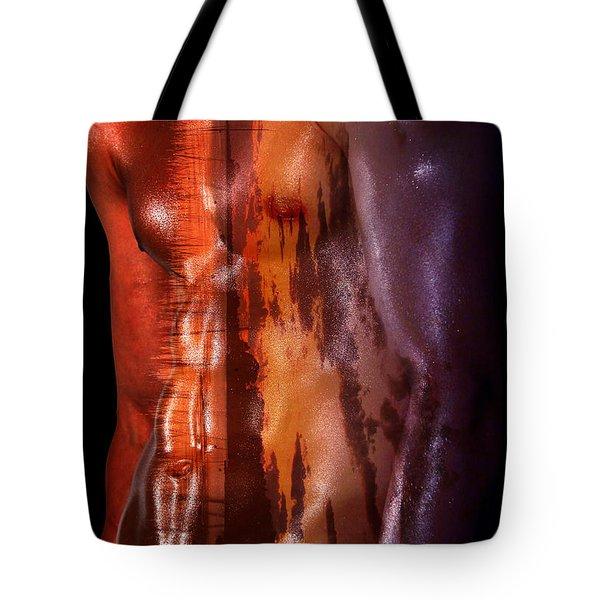 Barmuda Metallic   Tote Bag by Mark Ashkenazi