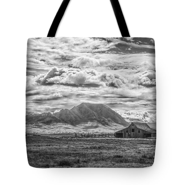 Barn And Bear Butte Tote Bag