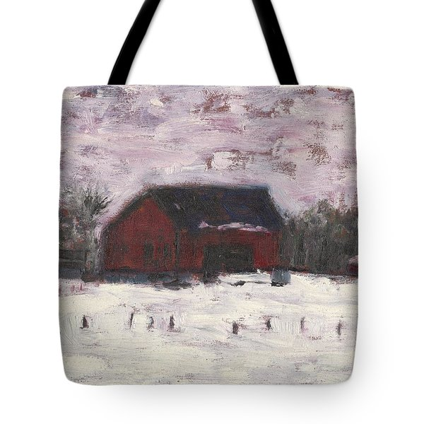 Barn At Myles Acres Tote Bag